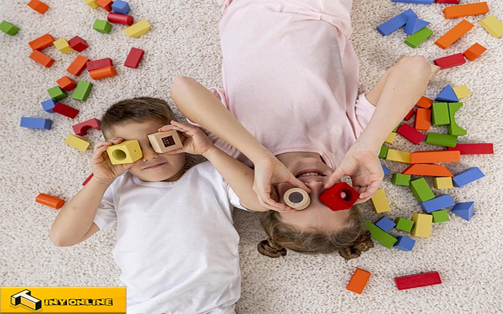 اسباب بازی های دخترانه و پسرانه