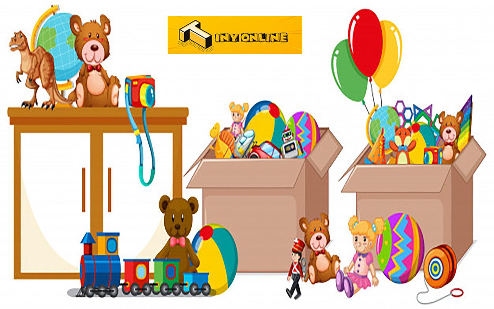 خرید اسباب بازی از تاینی آنلاین